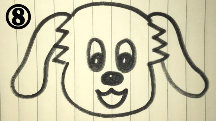 ワンワンの絵描き歌8