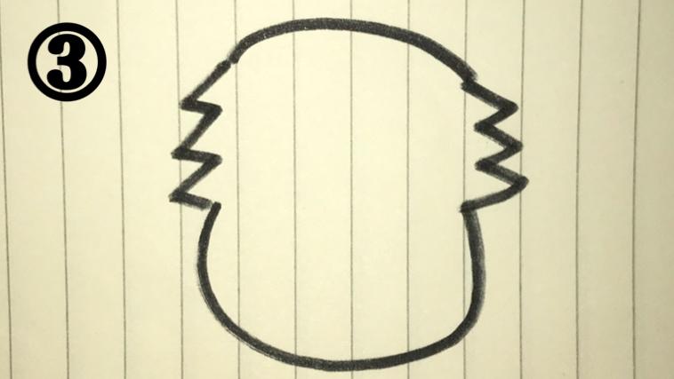 ワンワンの絵描き歌3