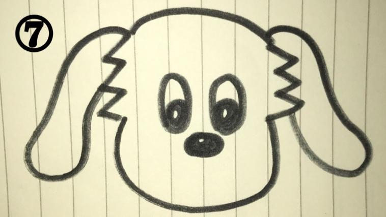 ワンワンの絵描き歌7