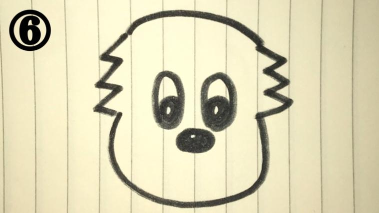 ワンワンの絵描き歌6