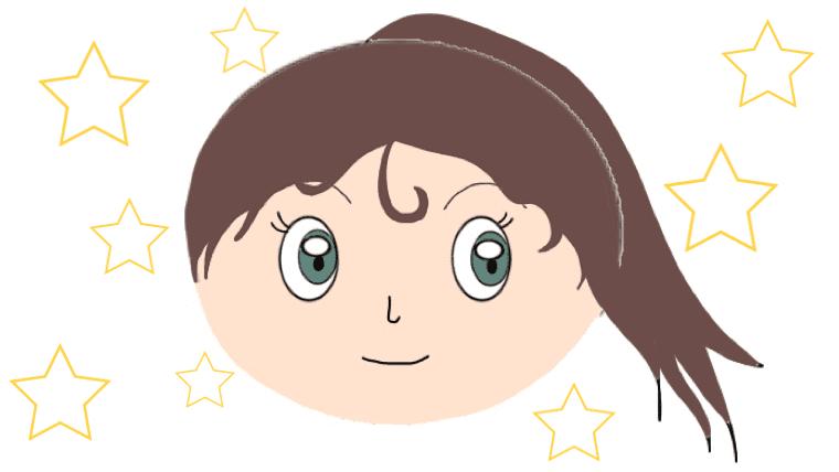 ロールパンナちゃんの包帯なしの素顔のイラスト画像